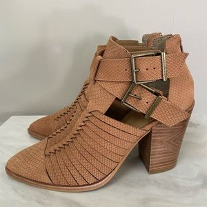 Gianni Bini Wrapped-Up Leather Cut Out  Bo…